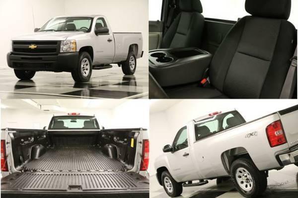 *SILVERADO 1500 4WD - 5.3L V8* 2013 Chevy *1 OWNER- WORK TRUCK*