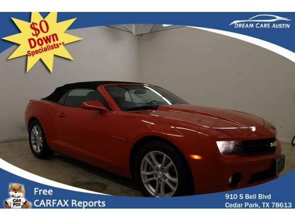2013 *Chevrolet Camaro* 2d Convertible LT1 - GOOD OR BAD CREDIT!
