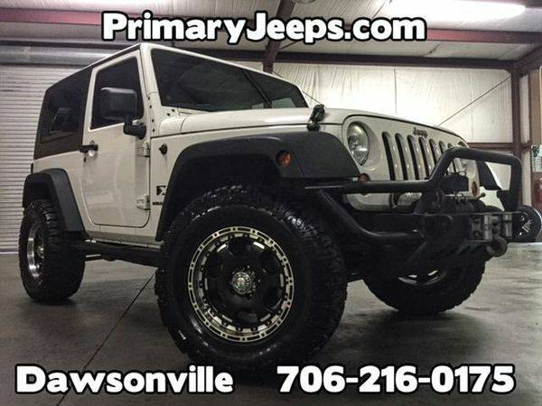 2009 *Jeep* *Wrangler* 4x4 X -IN HOUSE FINANCE-FREE SHIPPING-WARRANTY