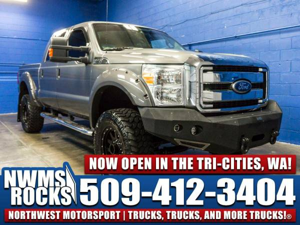 Lifted 2012 *Ford F250* XLT 4x4 - Clean Carfax History! 2012 Ford F-25