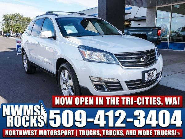 2016 *Chevrolet Traverse* LTZ AWD -