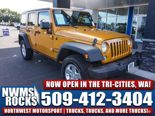 2014 *Jeep Wrangler* Unlimited Sport 4x4 -