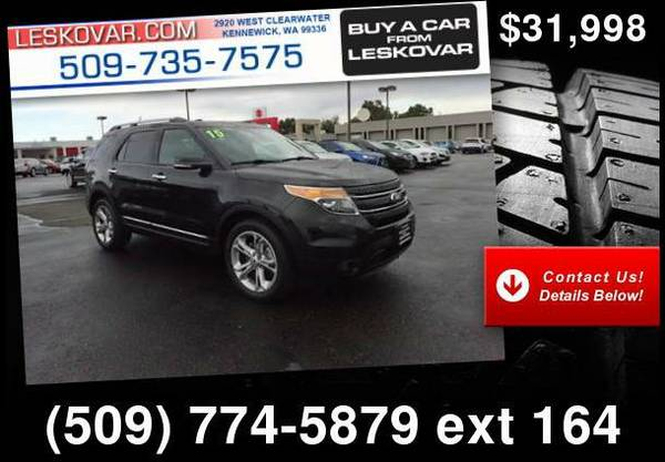 2015 Ford Explorer Limited AWD 4dr SUV Black