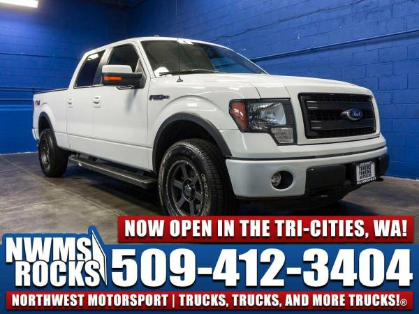 2013 *Ford F150* FX4 4x4 - Power Driver Seat! 2013 Ford F-150 FX4 4x4