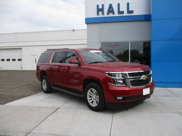 Certified Used 2015 Chevy Suburban w/ DVD & Sunroof