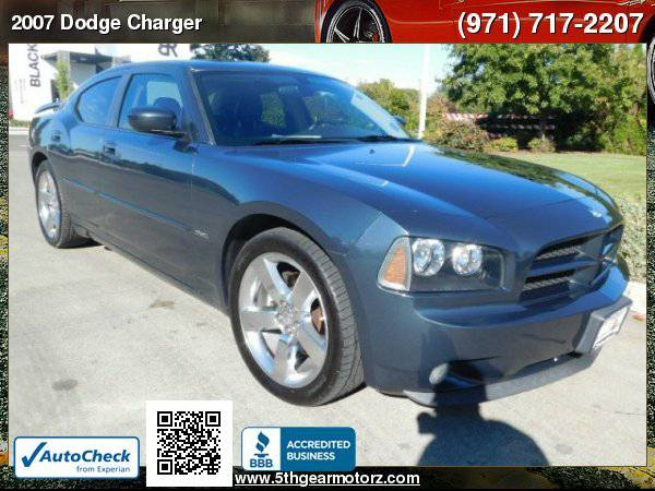 2007 Dodge Charger R/T *71K! HEMI! Custom Rims!*