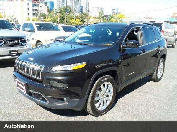 2016 Jeep Cherokee Limited Jeep Cherokee Limited SUV