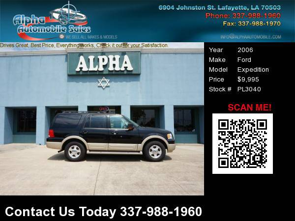 2006 Ford Expedition 4 Dr SUV