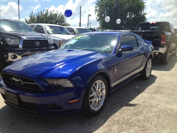 2013 FORD MUSTANG BLUE