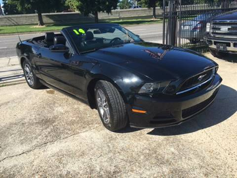 2014 FORD MUSTANG CONVERTIBLE BLACK