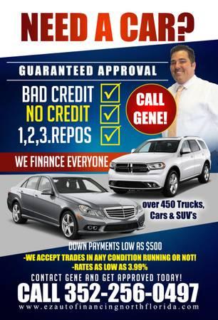 Call Gene $500 Cash down delivers Everyones Approve Credit Forgiveness