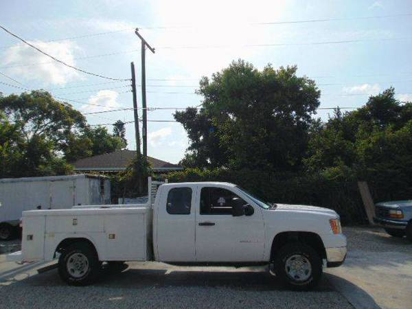 2008 GMC Sierra 2500HD X-Cab Utility Truck 100% Financing Available