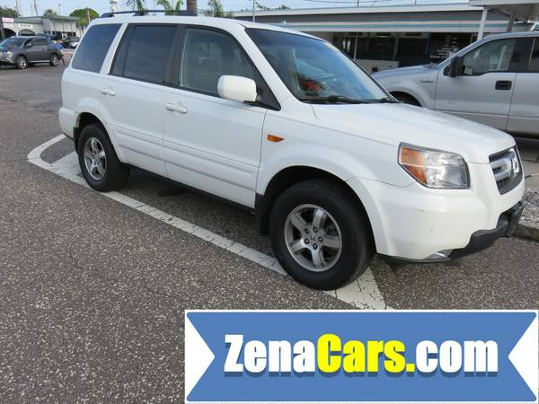 2007 1 OWNER HONDA PILOT EX-L WITH REAR ENTERTAINMENT