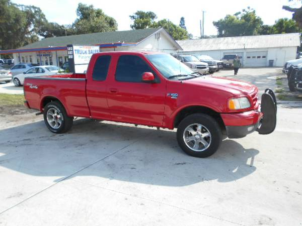 2002 Ford F-150 XL X-Cab 4X4 Sport 100% Financing & Leasing Available
