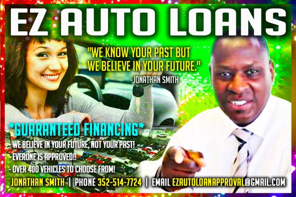 AUTO LOANS IN 10 MINUTES!! EASY AS 123!! BAD CREDIT SPECIALIST!!