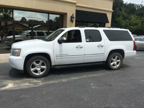 2009 CHEVROLET SUBURBAN LTZ PACKAGE THIRD ROW NAV REAR DVD !!!!!!