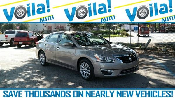 2015 NISSAN ALTIMA 2.5 S, BROWN