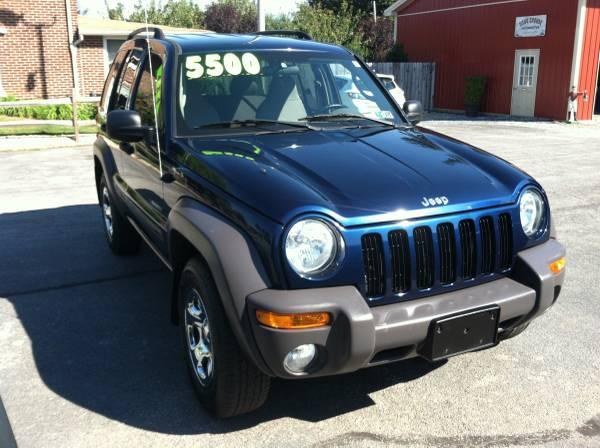 2004 Jeep Liberty 4-Door