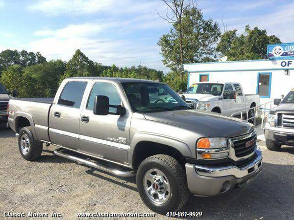 2007 *GMC* *Sierra* *2500* CrewCab SLT 4X4 - CALL/TEXT TODAY!