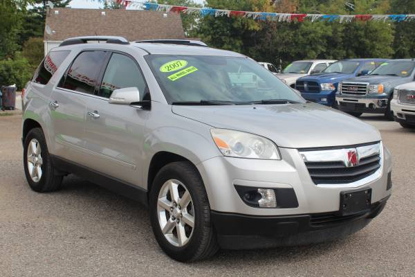 2007 SATURN OUTLOOK! ^^ AWD! 3RD ROW! ^^ IMMEDIATE FINANCING FOR ALL!!