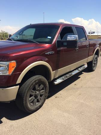 2009 ford f150 4x4 lariat lifted