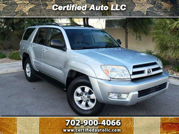2004 *Toyota* *4Runner* Sport Edition 2WD -EZ Finance, Warranty