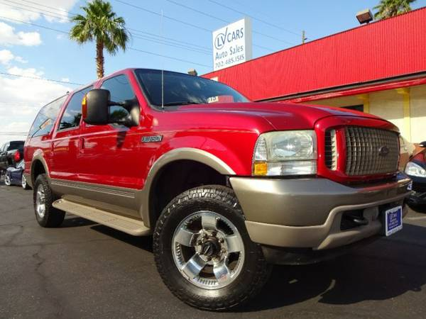 2004 Ford Excursion 137 WB 6.0L Eddie Bauer 4WD