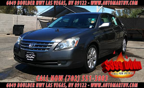 →→ 2007 TOYOTA AVALON XL - $399 DOWN