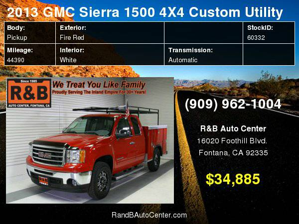 2013 GMC Sierra 1500 4X4 SLE FREE AAA Membership with purchase