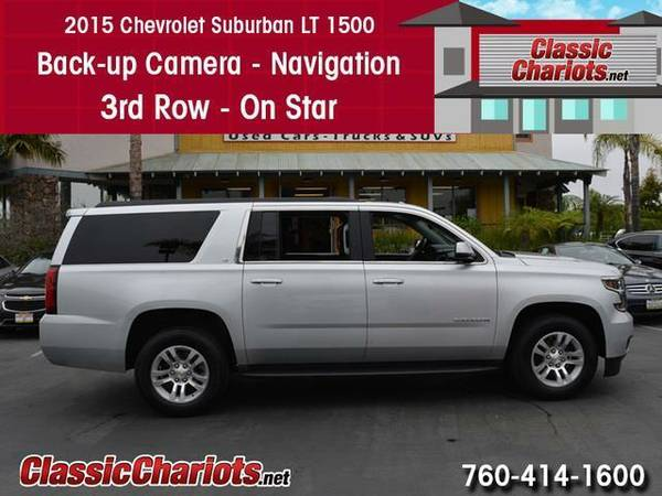 2015 Chevrolet Suburban LT 1500 - Navigation - Leather - BackUp Camera