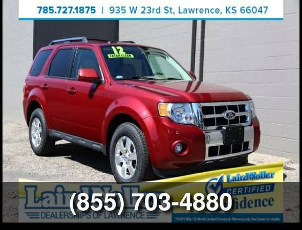 Used 2012 Ford Escape Limited