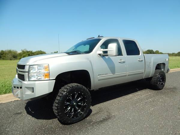 2011 CHEVY SILVERADO 2500 4X4-6.6L DURAMAX-ONLY 98K!!-CALL OR TEXT NOW
