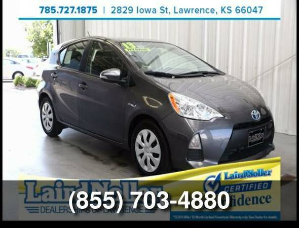 Used 2013 Toyota Prius c Two