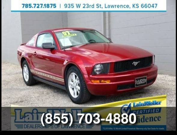 Used 2007 Ford Mustang V6 Premium
