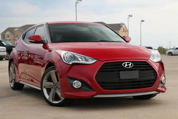 2013 HYUNDAI VELOSTER TURBO! BLACK LEATHER INTERIOR! ONLY $170/MONTH!