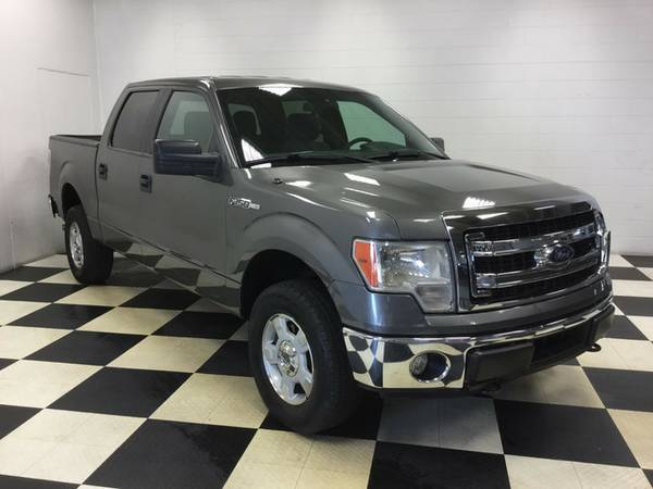 2014 FORD F-150 XLT 4X4 WHATA BEAST! LOW MILES! SUPER CREW CAB! LOOK!