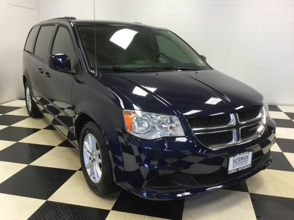 2014 DODGE GRAND CARAVAN SXT POWER SLIDING DOORS! BACK UP CAM! LOADED!