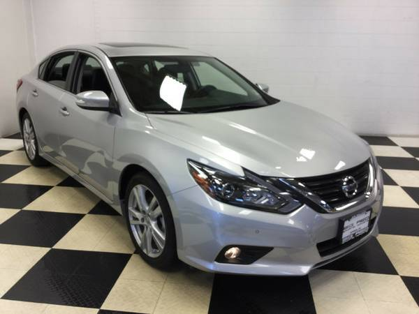2016 NISSAN ALTIMA 3.5 SL ONLY 7K MILES! LEATHER LOADED! NAV SUNROOF!