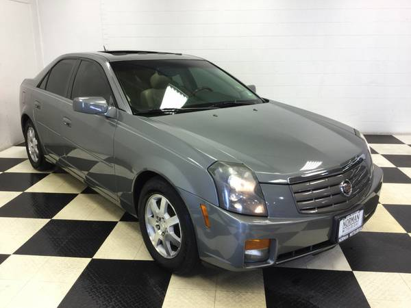 2005 CADILLAC CTS SUPER LOW MILES! SUNROOF! LTHR LOADED! RUNS PERFECT!