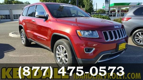 2014 Jeep Grand Cherokee RED ON SPECIAL!