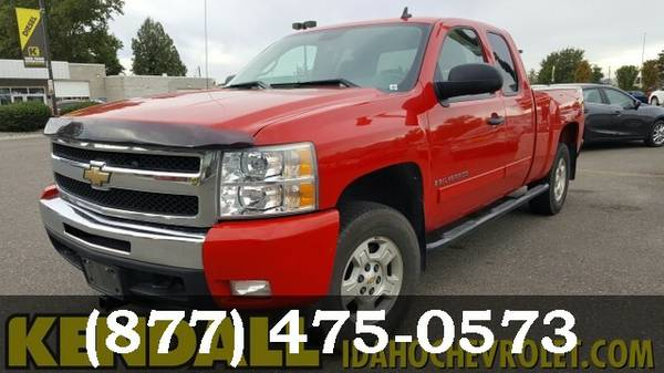 2009 Chevrolet Silverado 1500 Deep Ruby Metallic
