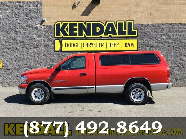 2006 Dodge Ram 2500 Flame Red LOW PRICE - Great Car!