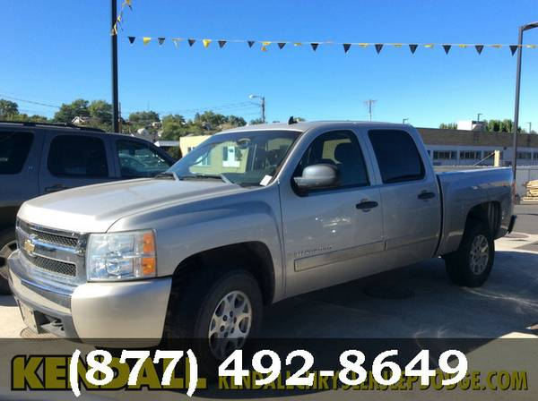 2007 Chevrolet Silverado 1500 Silver Birch Metallic Low Price..WOW!