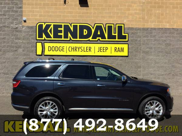 2014 Dodge Durango MAX STEEL MET ****BUY NOW!!