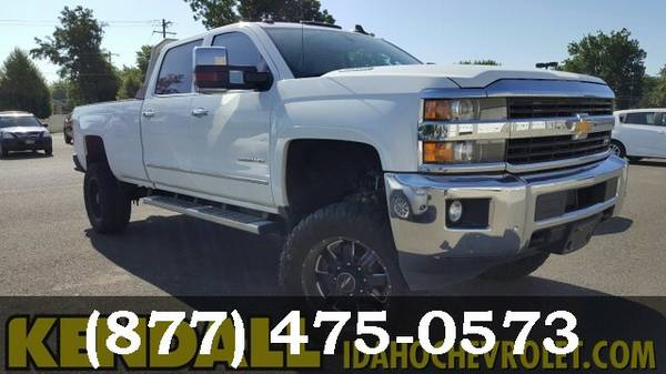 2015 Chevrolet Silverado 3500HD SUMMIT WHITE Must See - WOW!!!