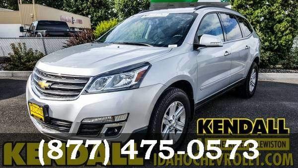 2014 Chevrolet Traverse SILVER Great Deal**AVAILABLE**