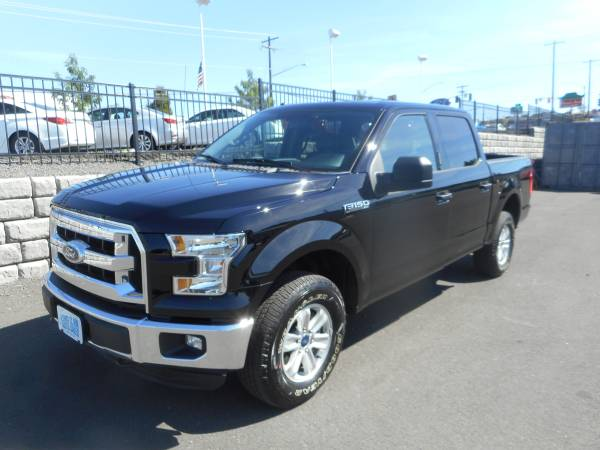 2016 FORD F150 SUPERCREW CAB XLT 4x4