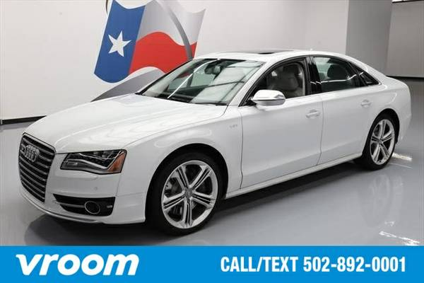 2013 Audi S8 4.0T 7 DAY RETURN / 3000 CARS IN STOCK