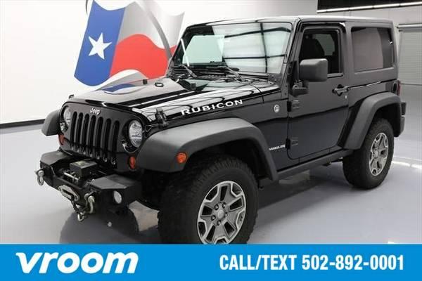 2013 Jeep Wrangler Rubicon 7 DAY RETURN / 3000 CARS IN STOCK