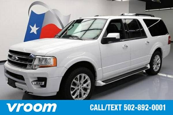 2016 Ford Expedition EL 4x4 Limited 4dr SUV SUV 7 DAY RETURN / 3000 CA